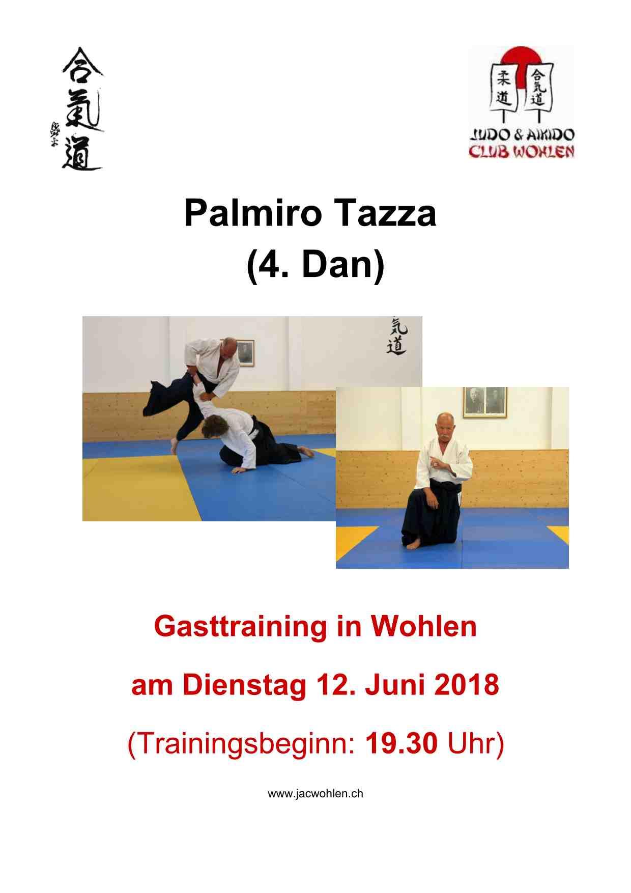 Gasttraining Palmiro Tazza in Wohlen 2018 am 12. Juni 2018